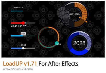 دانلود اسکریپت LoadUP برای ساخت نوارموزیک صدا در افترافکتس - LoadUP v1.71 For After Effects