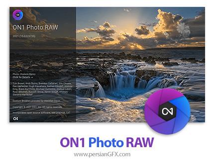 دانود نرم افزار ویرایشگر تصاویر - ON1 Photo RAW 2021 v15.0.0.9735 x64