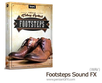 دانلود مجموعه افکت صوتی قدم زدن - Footsteps Sound FX