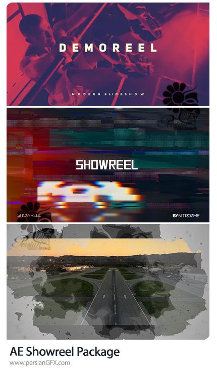 دانلود 3 پروژه افترافکت شوریل محصولات - Showreel Package