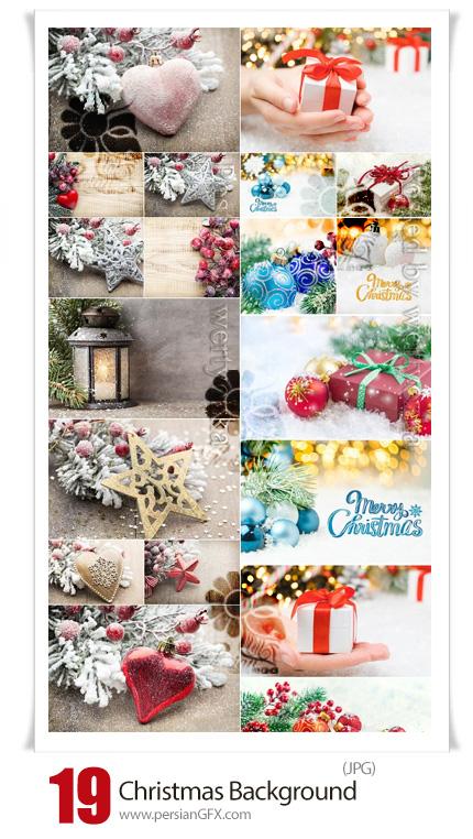 دانلود بک گراند های زمستانی کریسمس - Christmas Background