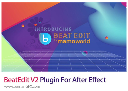 دانلود پلاگین گرفتن ضرب آهنگ BeatEdit برای افترافکتس - BeatEdit V2 Plugin For After Effect