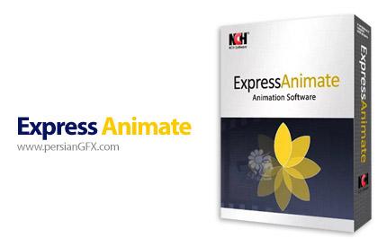دانلود نرم افزار ساخت انیمیشن و گیف های متحرک - NCH Express Animate v6.19 x64