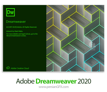دانلود نرم افزار ادوبی دریم ویور 2020 - Adobe Dreamweaver 2020 v20.2.1.15271 x64