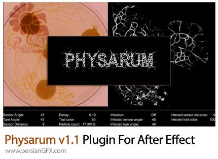 دانلود پلاگین شبیه سازی انتشار ویروس در افترافکتس - Physarum v1.1 Plugin For After Effect