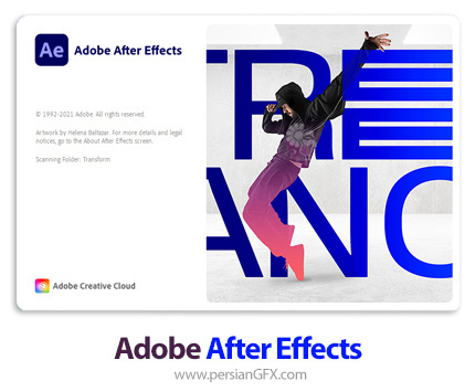 دانلود نرم افزار ادوبی افترافکت 2021 - Adobe After Effects 2021 v18.2.1.8 x64