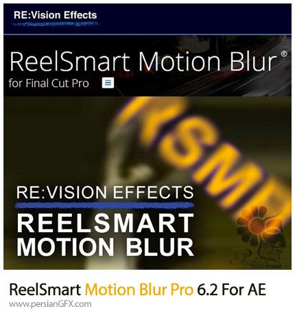 دانلود پلاگین ReelSmart Motion Blur برای اضافه کردن افکت موشن بلور در افترافکت - ReelSmart Motion Blur Pro 6.2 For After Effects