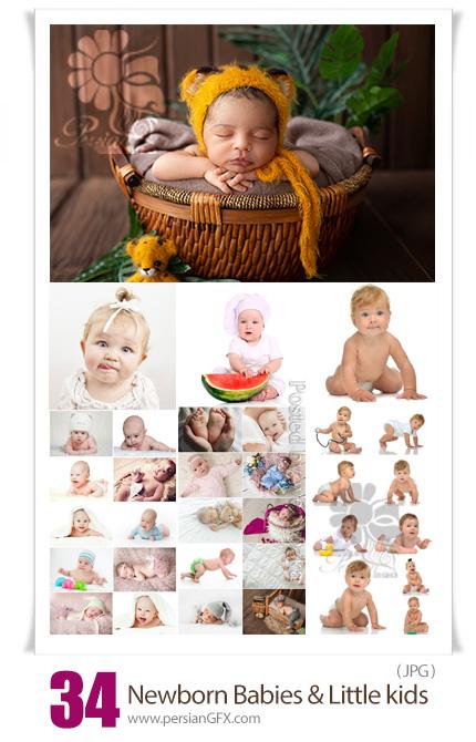 دانلود مجموعه عکس با کیفیت کودک، نوزاد و بچه - Newborn Babies And Little Kids