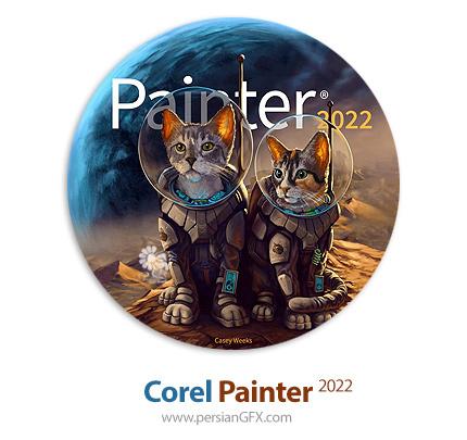 دانلود نرم افزار خلق نقاشی های طبیعی - Corel Painter 2022 v22.0.0.164 x64