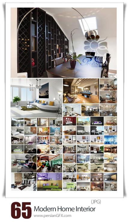 دانلود 65 عکس با کیفیت طراحی داخلی مدرن آپارتمان و خانه - Modern Home Interior