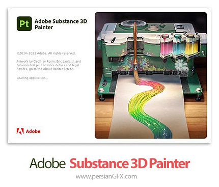 دانلود نرم افزار نقاشی تکسچر - Adobe Substance 3D Painter v7.2.3.1197 x64