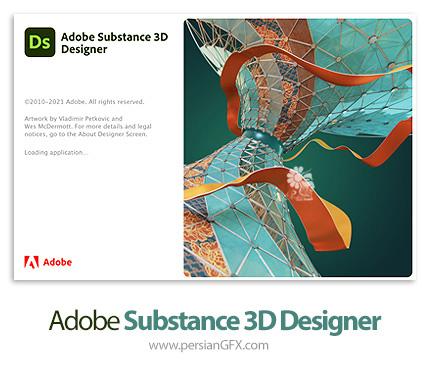 دانلود نرم افزار طراحی تکسچر و متریال سه بعدی - Adobe Substance 3D Designer v11.2.0.4869 x64