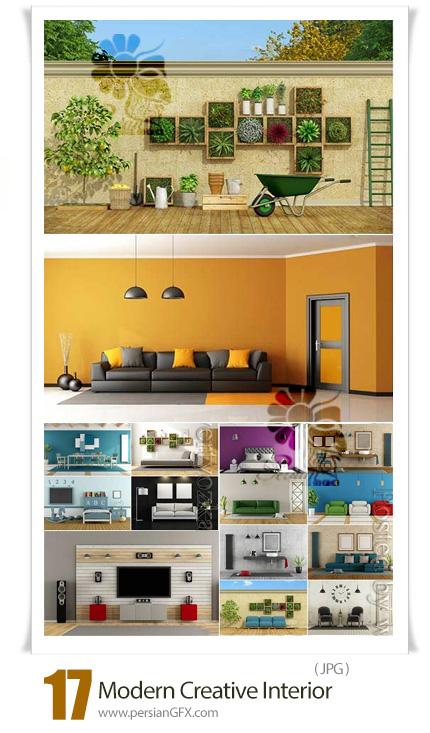 دانلود 17 عکس با کیفیت طراحی داخلی خانه، آشپزخانه، دستشویی، حمام - Creative Interior