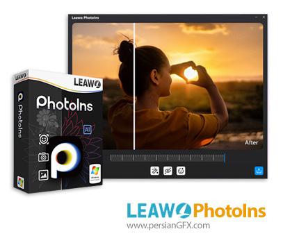 دانلود نرم افزار اصلاح و روتوش تصویر - Leawo PhotoIns v2.0.0.0 x64