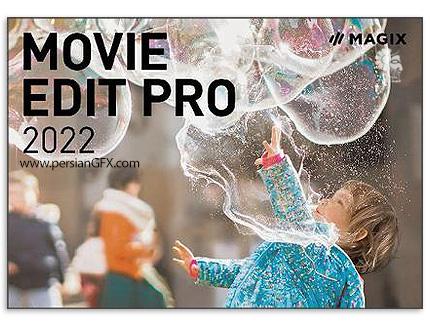 دانلود نرم افزار ویرایش فایل های ویدئویی - MAGIX Movie Edit Pro 2022 v21.0.1.85 x64