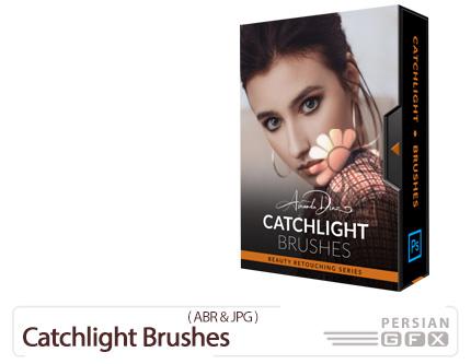 دانلود براش فتوشاپ نورافکن برای درخشان کردن چشم - Catchlight Brushes